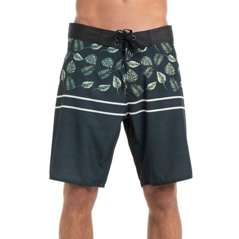 BOARDSHORTS-RED-NOSE-GOLDEN-LEAFS-PRETO