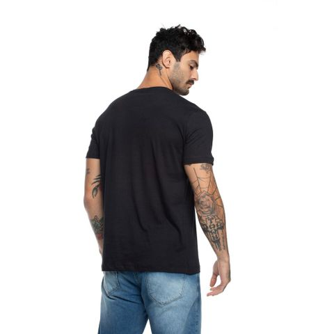 CAMISETA-MASCULINA-NINETY-SIX---RED-NOSE-PRETO