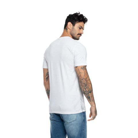 CAMISETA-MASCULINA-OLD-LEAVES---RED-NOSE-BRANCO