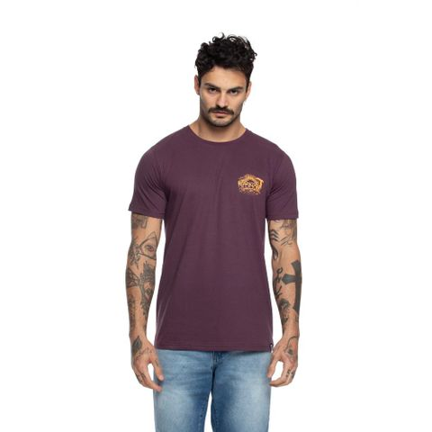 CAMISETA-MASCULINA-SUNSET---RED-NOSE-ROXO
