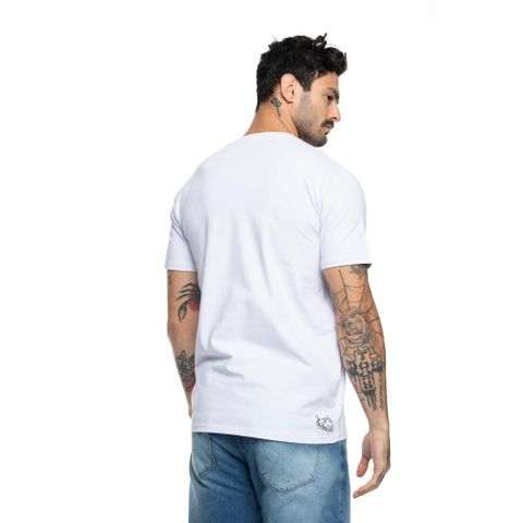 CAMISETA-MASCULINA-BASIC-DOG-BACK---RED-NOSE-BRANCO
