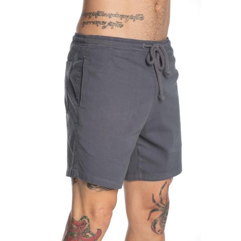 SHORTS-MASCULINO-ELASTICO-COTTON---RED-NOSE-CINZA