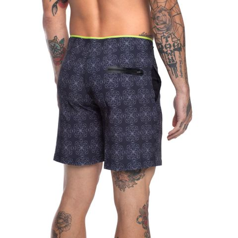 BOARDSHORTS-MASCULINO-CURTO-WALK-CRUSADE---RED-NOSE-PRETO