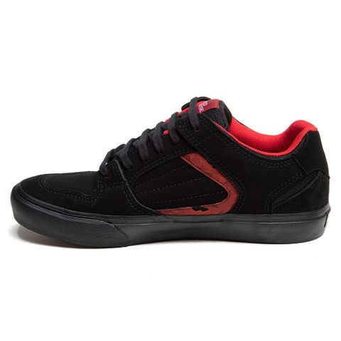 TENIS-MASCULINO-GENERATOR-ALL-BLACK---RED-NOSE-PRETO