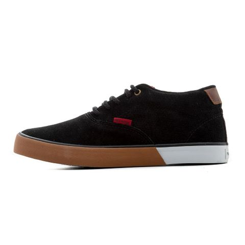 TENIS-MASCULINO-TOPSPOT-PRETO---RED-NOSE-MARROM