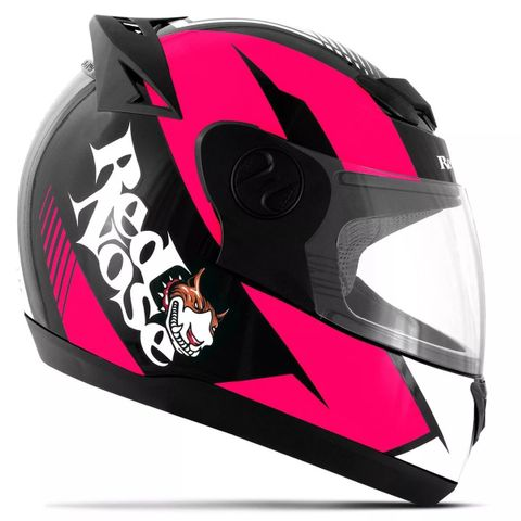CAPACETE-RED-NOSE-EVOLUTION-ROSA-BRILHANTE