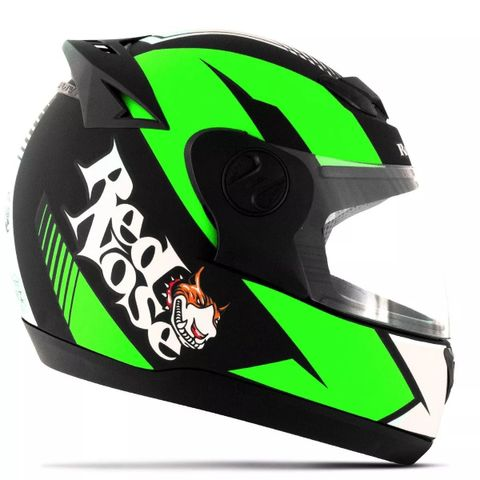 CAPACETE-RED-NOSE-EVOLUTION-VERDE-FOSCO