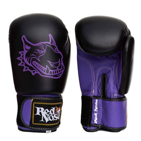 LUVA-DE-BOXE---RED-NOSE-ROXO