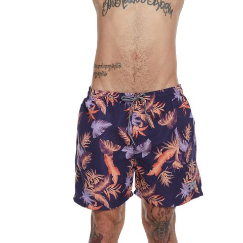 SHORTS-MASCULINO-ELASTICO-SANTA-MONICA---RED-NOSE-ROXO