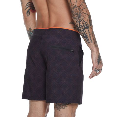 BOARDWALK-MASCULINO-GEOMETRIC---RED-NOSE-PRETO