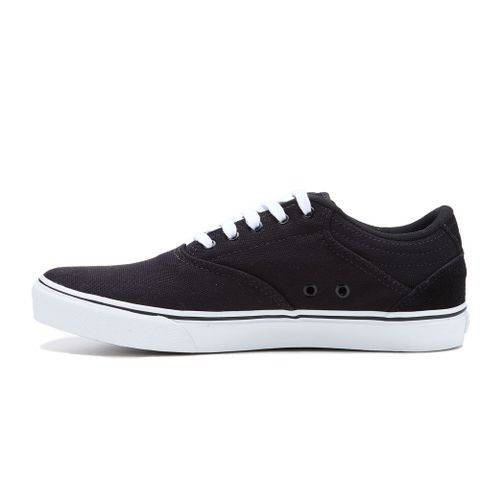 TENIS-MASCULINO-BOARDWALK---RED-NOSE-PRETO-BRANCO