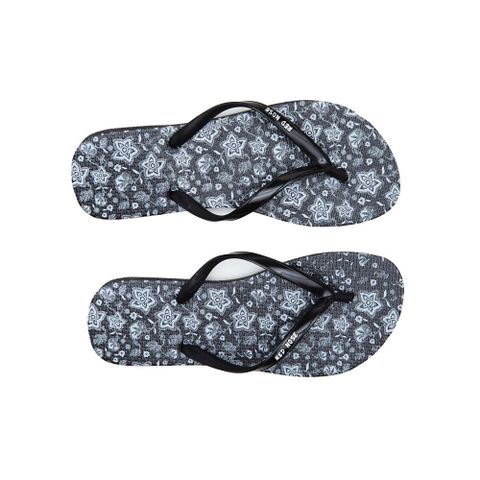 CHINELO-FEMININO-FLOWER---RED-NOSE-PRETO