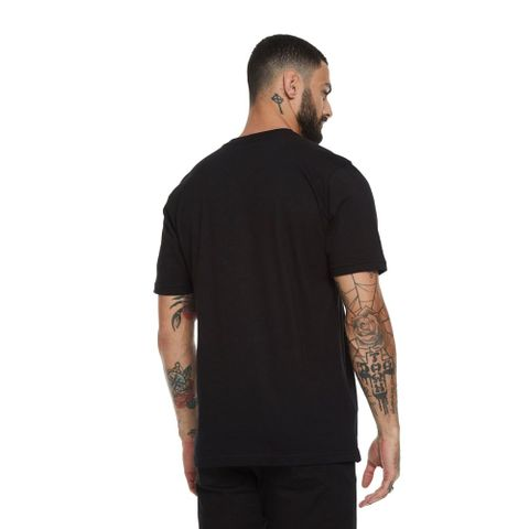 CAMISETA-MASCULINA-DRIPPING---RED-NOSE-PRETO