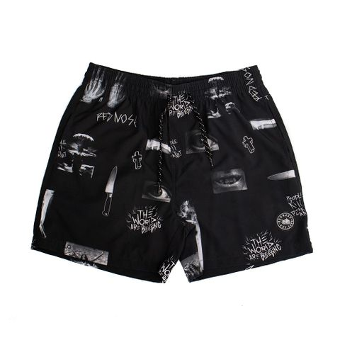 SHORTS-ELASTICO-MASCULINO-THE-END---RED-NOSE-PRETO
