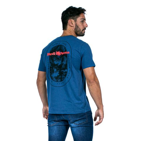 CAMISETA-MASCULINA-HAWAII-RED-NOSE-AZUL