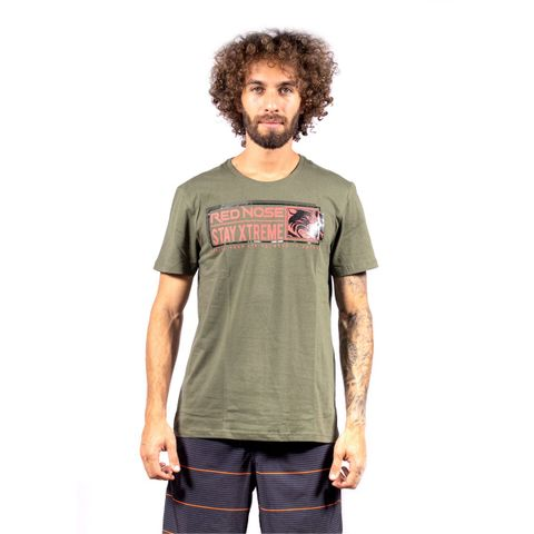 CAMISETA-MASCULINA-MAKER---RED-NOSE-VERDE