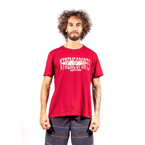 CAMISETA-MASCULINA-STORIES---RED-NOSE-VINHO