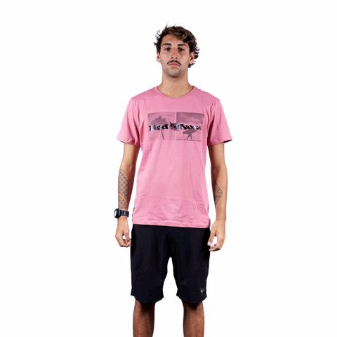 CAMISETA-MASCULINA-NUEVA---RED-NOSE-ROSA