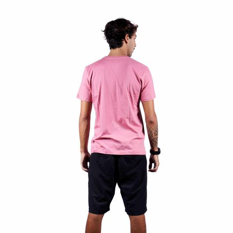 CAMISETA-MASCULINA-EXCLUSIVE---RED-NOSE-ROSA