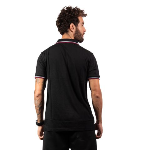 CAMISA-POLO-MASCULINA-TEST---RED-NOSE-PRETO