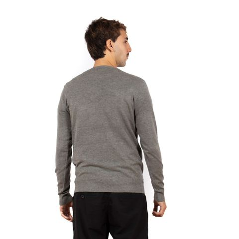 SUETER-TRICOT-MASCULINO-TODAY---RED-NOSE-CINZA