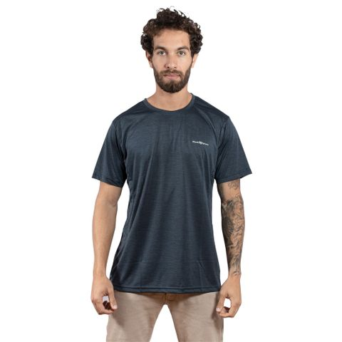 CAMISETA-MASCULINA-LOW---RED-NOSE-CINZA-ESCURO