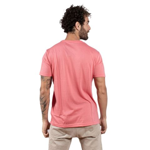 CAMISETA-MASCULINA-POWER---RED-NOSE-CORAL